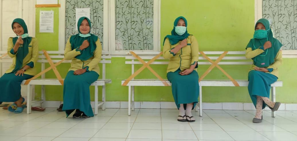 Cegah Virus Corona, Puskesmas Aska Terapkan Social Distancing