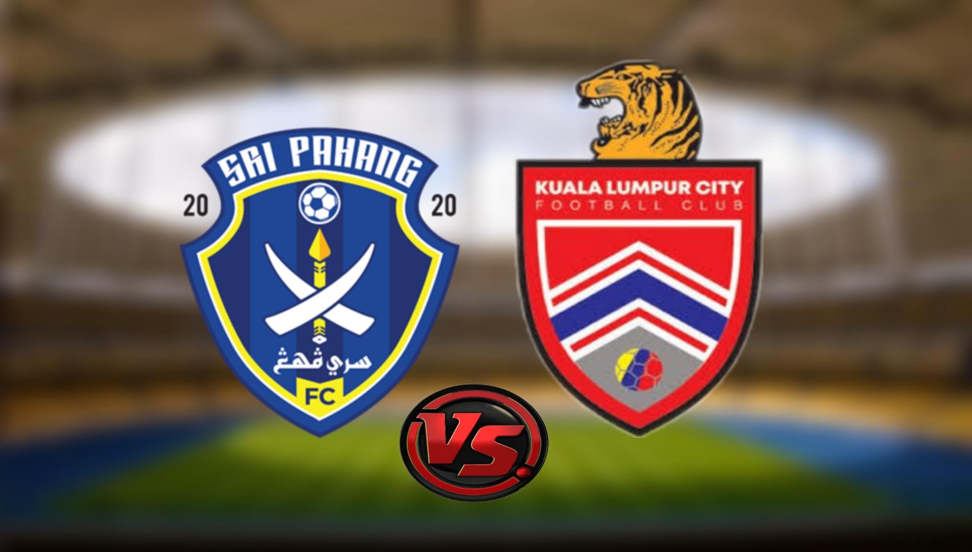 Live Streaming Sri Pahang FC vs Kuala Lumpur City FC Liga Super 20.8.2021