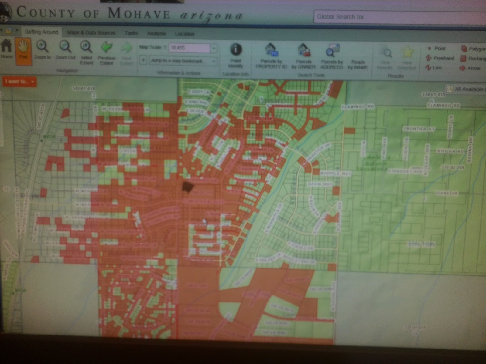 below is a link to a map of the whole fire district you need windows with silverlight to view the map the fire district is shown as red polygons via a