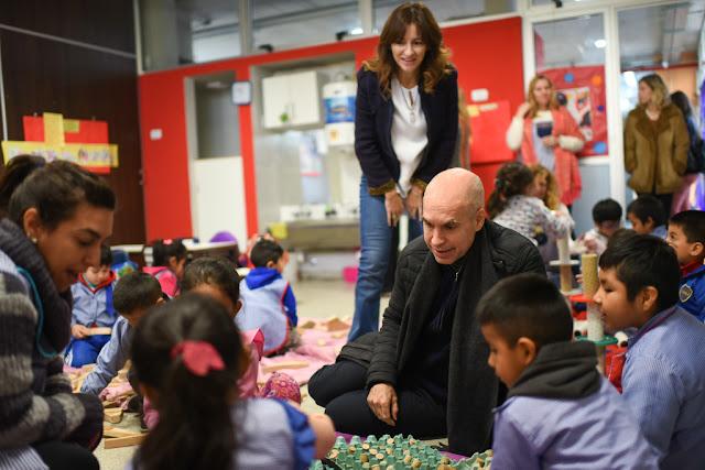 Rodríguez Larreta: La educación es prioridad para la Ciudad