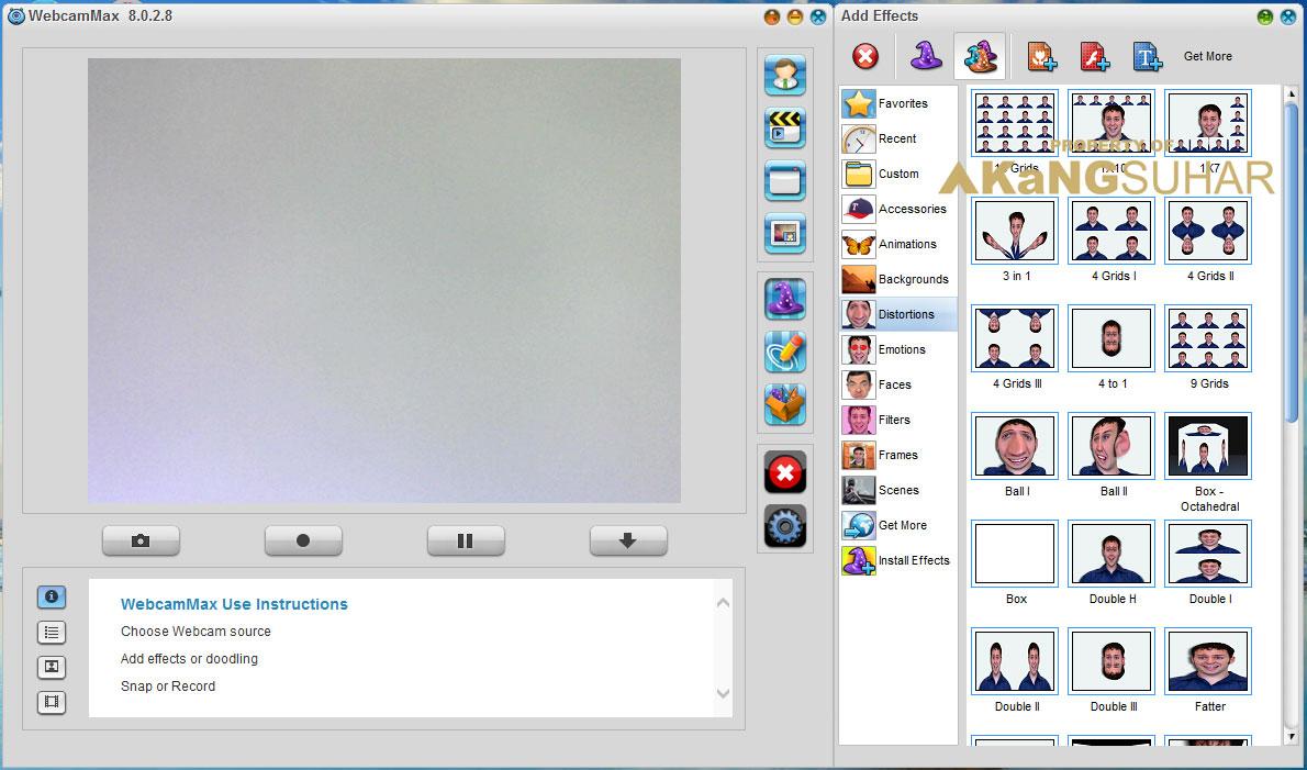 Download WebcamMax 8.0.2.8 Full Version