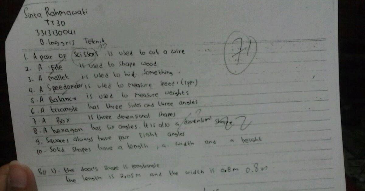 Soal Uas Semester 3 Bahasa Inggris Dokumen 471