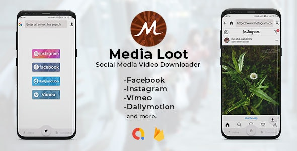 Download Media Loot v1.0 - The Ultimate Social Media Downloader