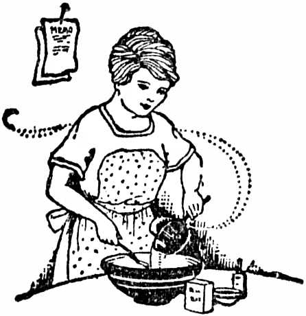 Women Cooking Food Drawing Sketch Coloring Page