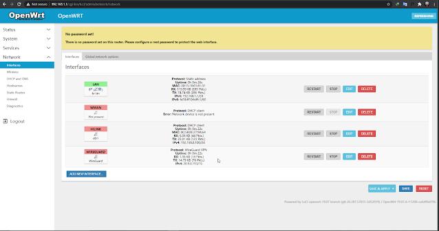 Cara Install Wireguard VPN di STB HG860P OpenWrt