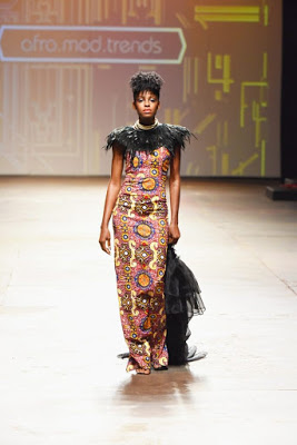 Victoria Michaels Rocks Afromod Trends At The Mercedes Benz Fashion Week Cape Town