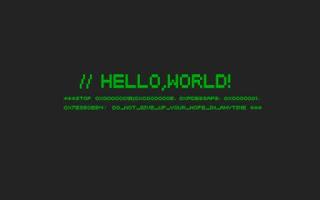 Merhaba Dünya!