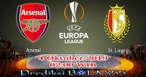 Prediksi Bola855 Arsenal vs St. Liege 4 Oktober 2019