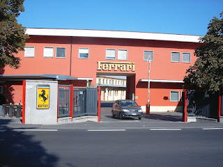 The Ferrari headquarters at Maranello