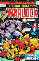Strange Tales v1 #181 marvel warlock comic book cover art by Jim Starlin