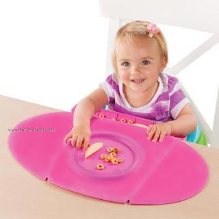 مفرش طاولة للاكل للاطفال الصغار