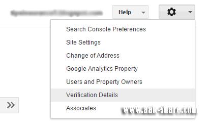 pilih Verification Detaills