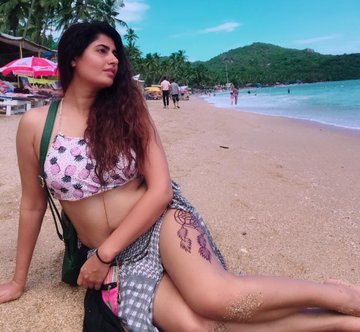 Tamil Actress Ashima Narwal Hot Bikini Stills At Chennai Beach Navel Queens
