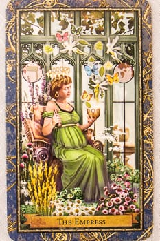 The Empress - Wizards Tarot - Mother Tarot