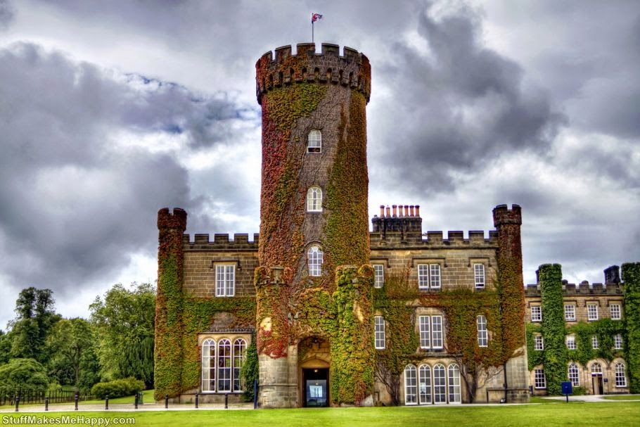 Swinton Park Castle, North Yorkshire, UK. Double room per night ranges from £ 240 to £ 550. (Photo by Tom Blackwell)