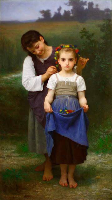 Адольф Вильям Бугро - Сокровище полей (1884)