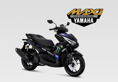 All New Yamaha Aerox 155 Terbaru 2021 MotoGP Edition