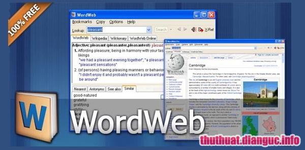 Download WordWeb Pro Ultimate Reference Bundle 8.23 Full Crack, phần mềm từ điển toàn diện, WordWeb Pro Ultimate Reference Bundle , WordWeb Pro, WordWeb Pro free download, WordWeb Pro full key,