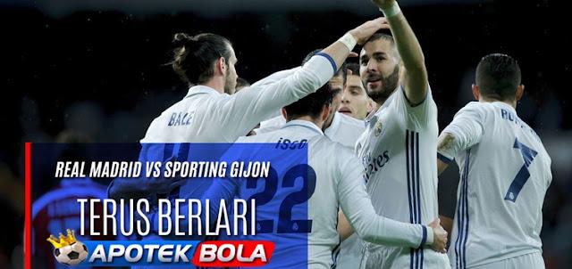 Prediksi Pertandingan Real Madrid vs Sporting Gijon 26 November 2016