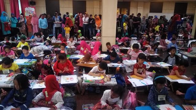 Coloring Competition Super Kids dan Seminar Kesehatan Anak Dalam Rangka Peluncuran Produk Baru K-Link