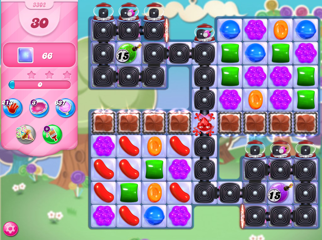 Candy Crush Saga level 3302