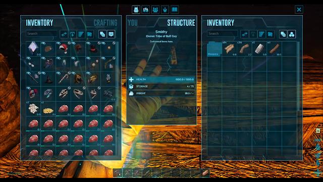 Screenshot Gameplay ARK: Survival Evolved PC