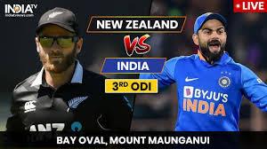 India vs New Zealand 3rd ODI 2020 live, highlights