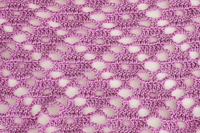 2 - Crochet Imagen Puntada a crochet de rombo muy fácil y sencilla por Majovel Crochet