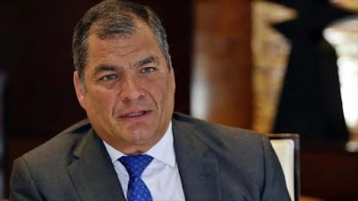 La Justicia de Ecuador ratifica su condena por cohecho contra el expresidente Rafael Correa, por lo que queda inhabilitado de postular a cualquier cargo político.
