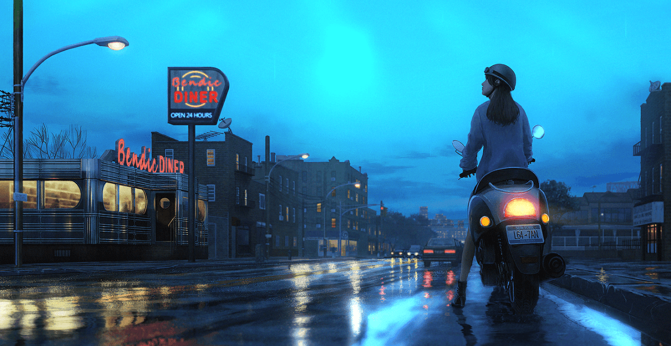 After the Rain ~ Jazzy HipHop [Original] [Wallpaper Engine] Free!