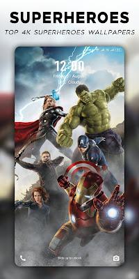 Superheroes Wallpapers | 4K Backgrounds Apk Download