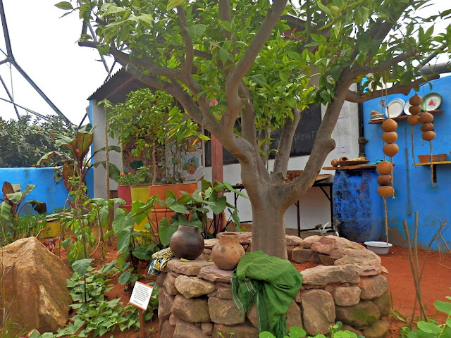 African CAMFED display at Eden Project, Cornwall
