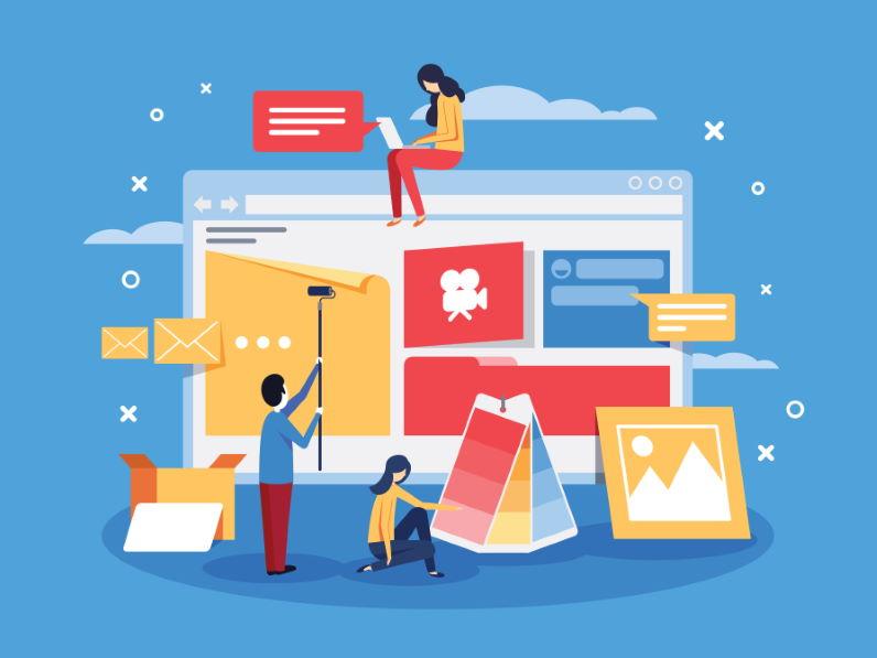 Diseño Web Licencia Adobe Stock