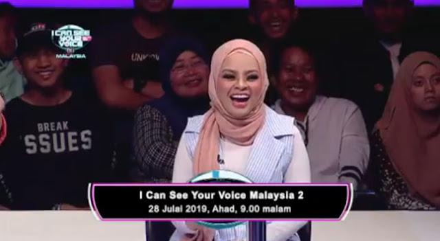 Tetamu Undangan I Can See Your Voice Malaysia 2019 Mingu 6