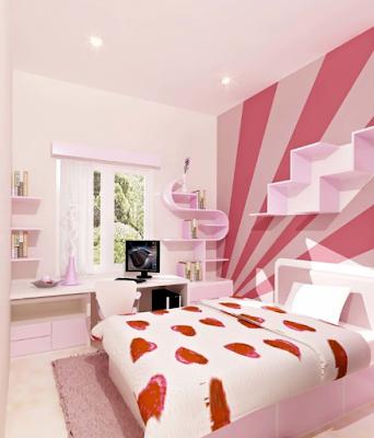 14 Desain Kamar Tidur Anak Perempuan Minimalis dan Unik 2018
