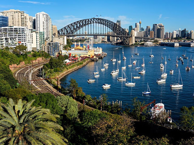 Sydney Harbor is an attraction in itself when visiting Australia.