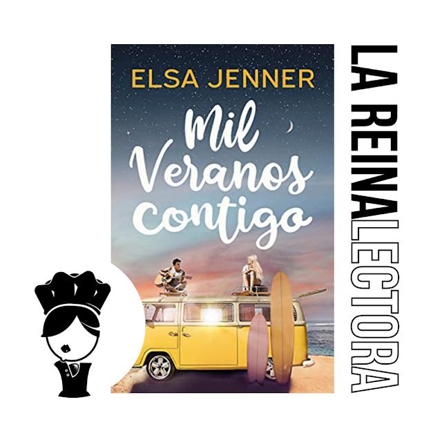 Reseña del libro «Mil veranos contigo» de Elsa Jenner, participante del Premio literario Amazon Storyteller 2021.