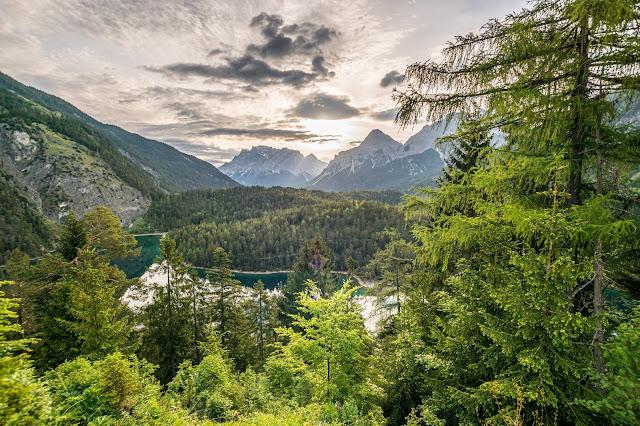 Mountainbike Tour Fernpass/Lermoos Biberwier/Blindseetrail