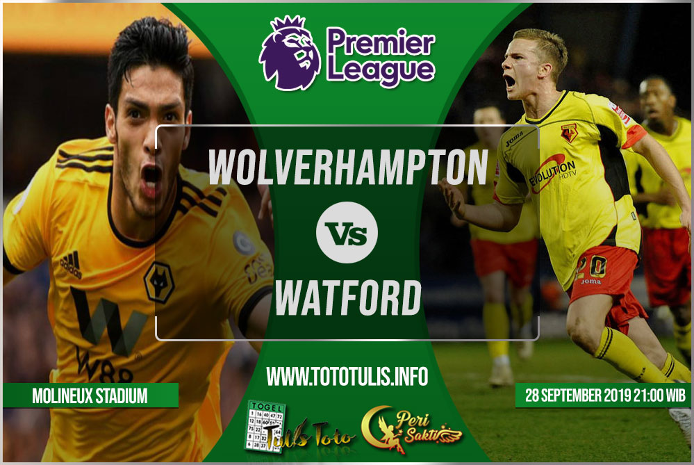 Prediksi Wolverhampton vs Watford 28 September 2019