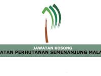 Jawatan Kosong Terkini Jabatan Perhutanan Semenanjung Malaysia | Tarikh Tutup: 13 Jun 2019