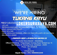We Are Hiring at PT. Sentra Tama Mandiri - Advertising Surabaya September 2020