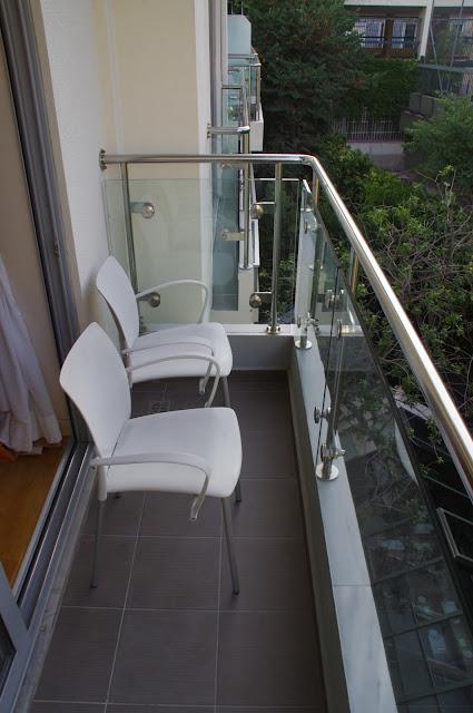 The Herodion Hotel Balcony