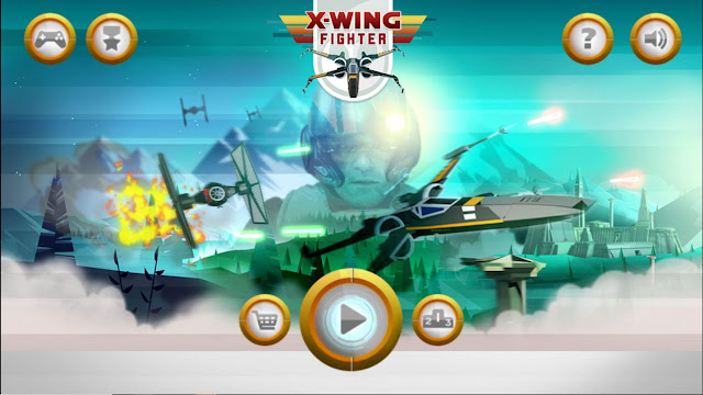 Plays Org Star Wars X-Wing Fighter