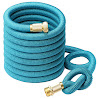 Greenbest 2016 New 50' Expanding, Ultimate Expandable Garden Hose, Solid Brass Connector Fittings, Blue
