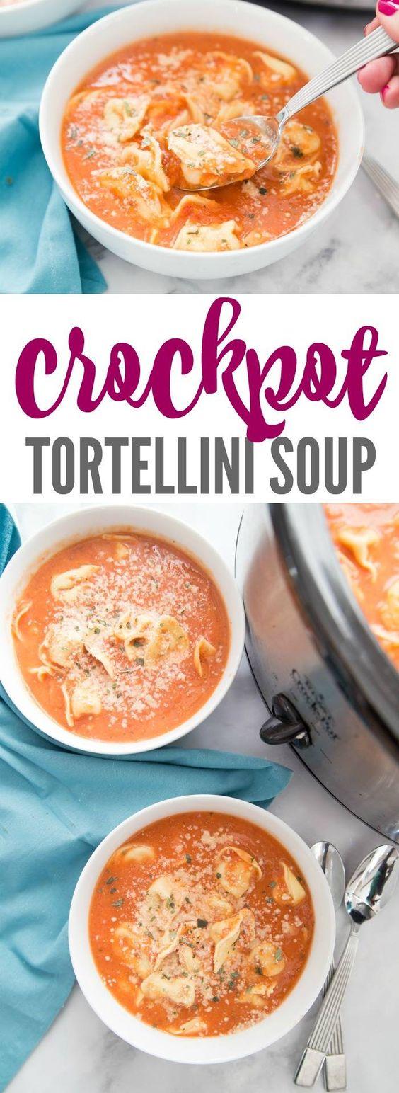 Crockpot Tortellini Soup