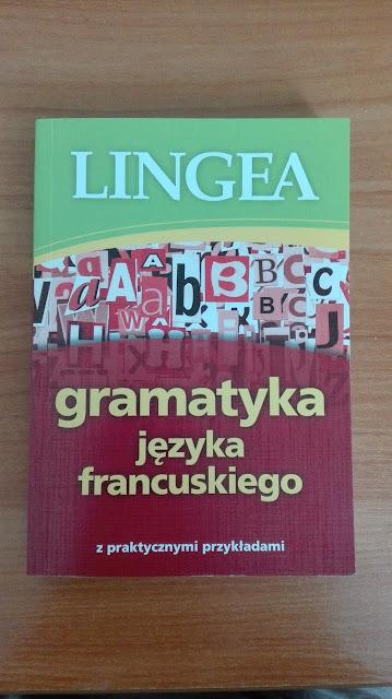 """Recenzje #4 - """"Gramatyka języka francuskiego"""" - okładka """"Gramatyki języka francuskiego"""" - Francuski przy kawie"""