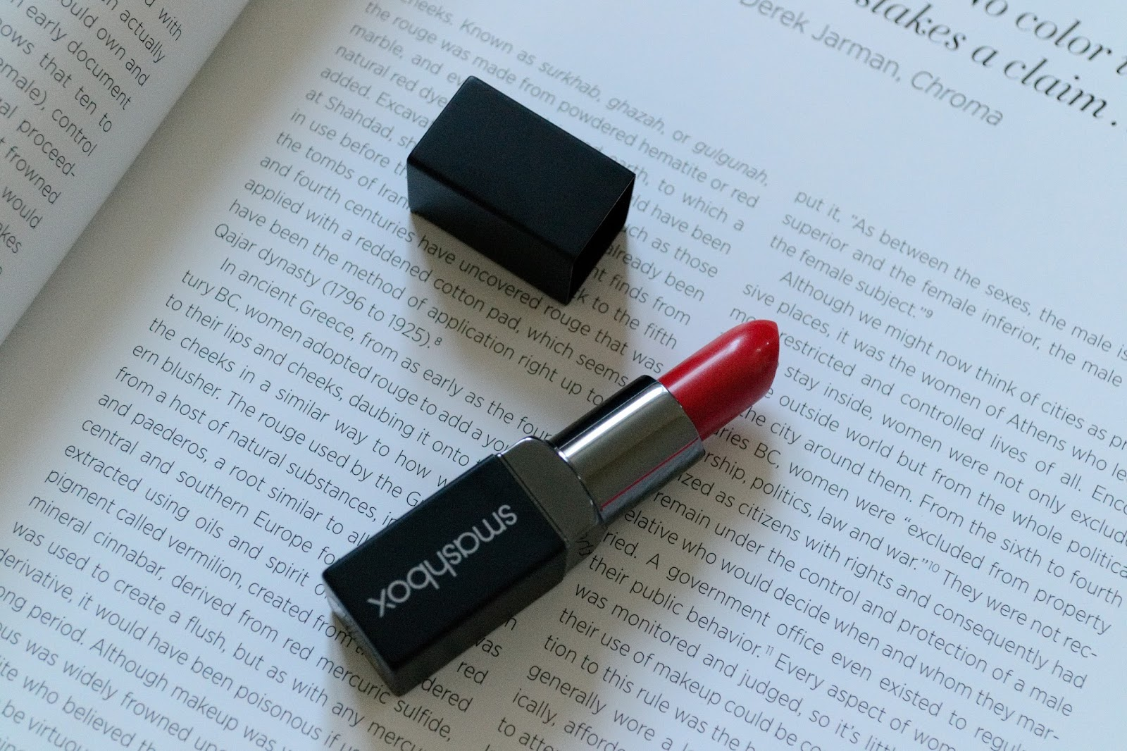 Smashbox Be Legendary Lipstick Get Fired Review - Aspiring Londoner