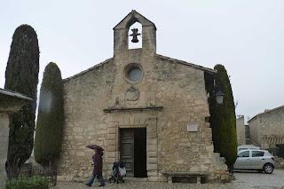 Capilla de los Penitentes Blancos, Les Baux-de-Provence.