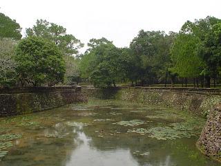 Lago del recinto Imperial del Emperador Tu Duc - Hue - Vietnam