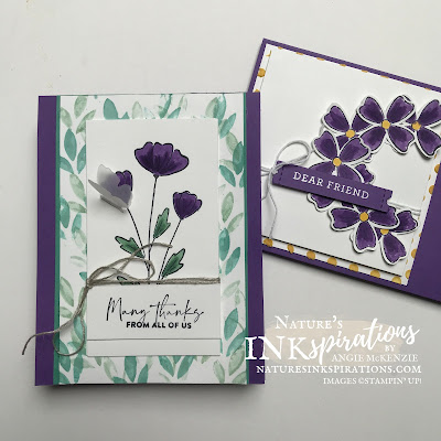 Weekly Digest | Week Ending June 26, 2021 | Nature's INKspirations by Angie McKenzie for Ink and Inspiration Blog Hop; Click READ or VISIT to go to my blog for details! Featuring the several coloring techniques along with the Flowers of Friendship Bundle in the 2021-2022 Annual Catalog by Stampin' Up!®; #flowersoffriendshipstampset #flowersandleavespunch  #flowersoffriendshipbundle #thankyoucards #stampinupcolorcoordination #inkandinspirationbloghop #stampingtechniques #punchedfloralwreath #naturesinkspirations #20212022annualcatalog #bloghops #iibh #stampinup #handmadecards #fauxalcoholcoloring #waterpainters